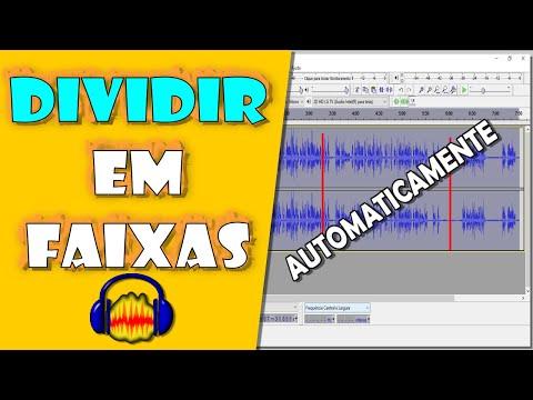 Dividir Arquivos de Áudio em Faixas AUTOMATICAMENTE no Audacity - SILENCE FINDER e SOUND FINDER