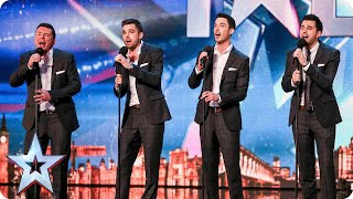 Vocal group The Neales are keeping it in the family | Britain's Got Talent 2015 thumbnail