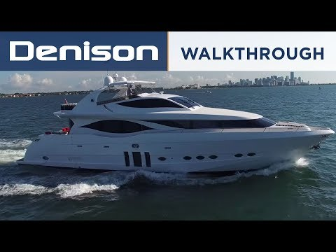 MIA: 90' Eagle Motoryacht Walkthrough in Miami
