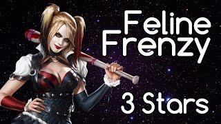 Feline Frenzy w/ Harley Quinn - 3 Stars, 131010 Points (Batman: Arkham Knight)