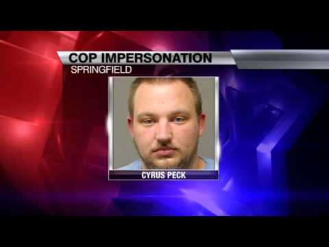 Springfield Man Faces Charges of Impersonating a Cop and Felonious Assault