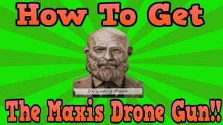 """Black Ops 2 Origins"" How To Get The Maxis Drone Secret Weapon! (Easter Egg)"