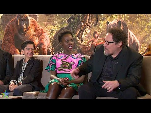 The Jungle Book (2016) - Action! Star Neel Sethi and Director Jon Favreau