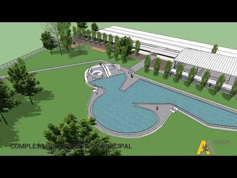 Proyecto del nuevo complejo deportivo de Tudela