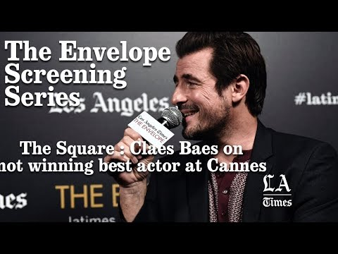 Claes Bang From The Square On Not Winning Best Actor At Cannes   Los Angeles Times