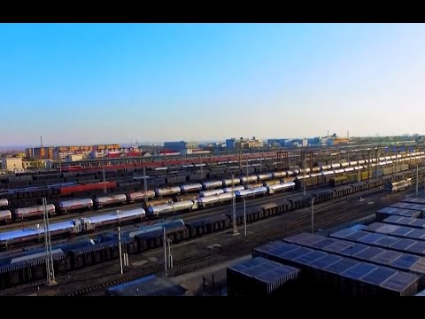 """Silk Road"" freight train logistics hub in Xinjiang boosts connectivity, productivity"
