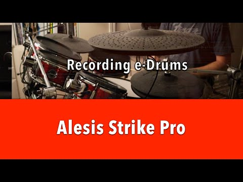 Recording with the Alesis Strike Pro - Part I - Audio Outputs