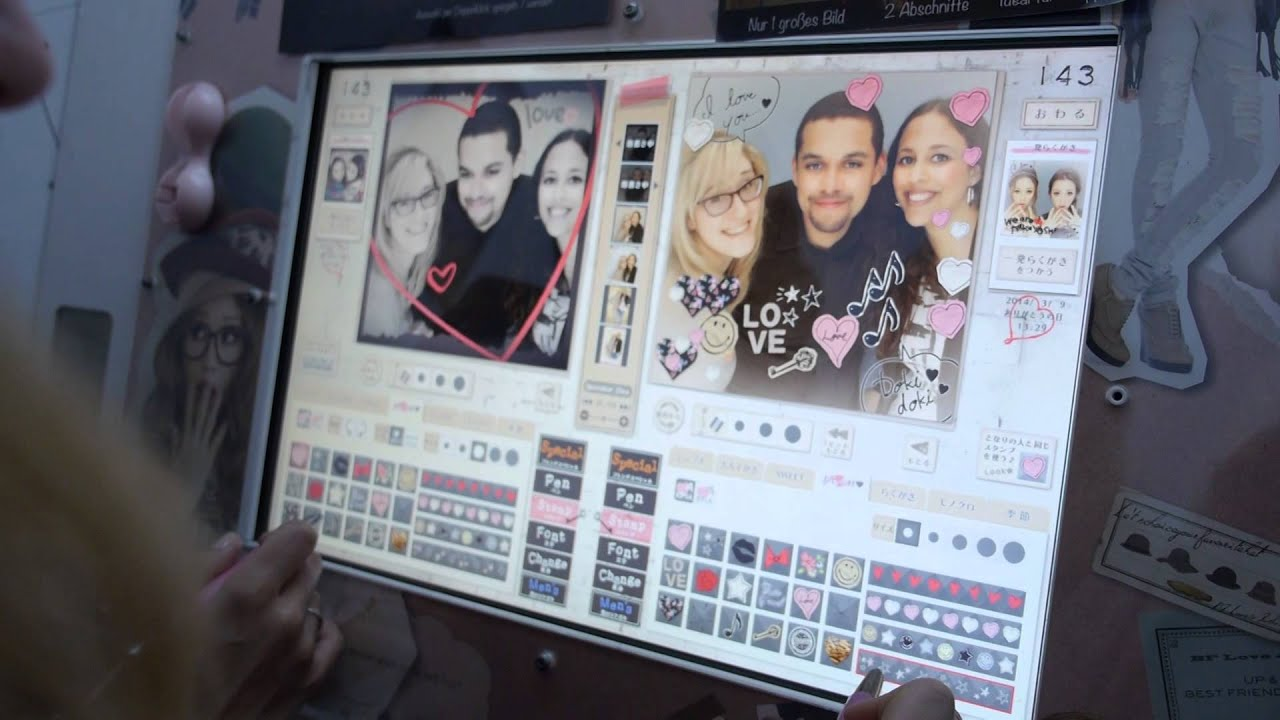 commercial purikura j store berlin youtube. Black Bedroom Furniture Sets. Home Design Ideas
