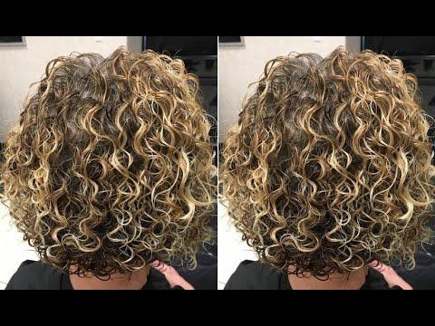 Curly Bob Haircut Tutorial Natural Textured Curly Bob Hairstyles Youtube