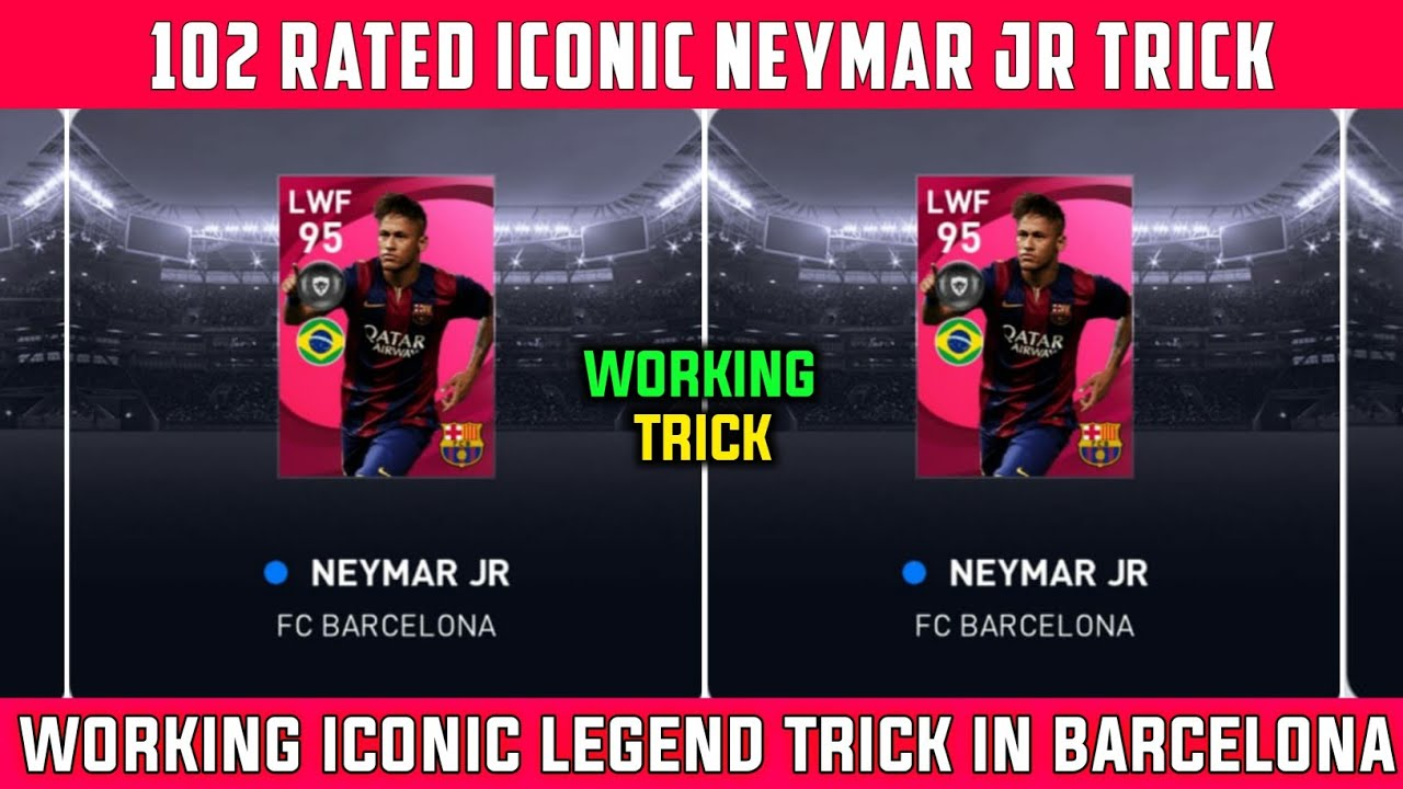 TRICK TO GET ICONIC NEYMAR JR  | BARCELONA ICONIC MOMENTS | PES 2021
