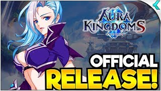 AURA KINGDOM S (아우라킹덤S) | New Anime Mobile MMORPG! FIRST IMPRESSIONS