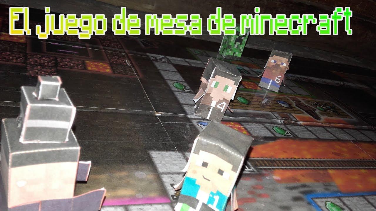 El juego de mesa de minecraft youtube for Petropolis juego de mesa