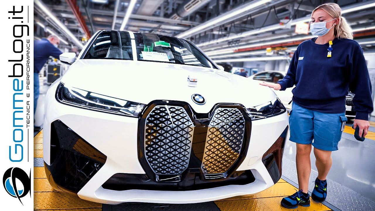 2022 BMW iX  - Production (German Car Factory)