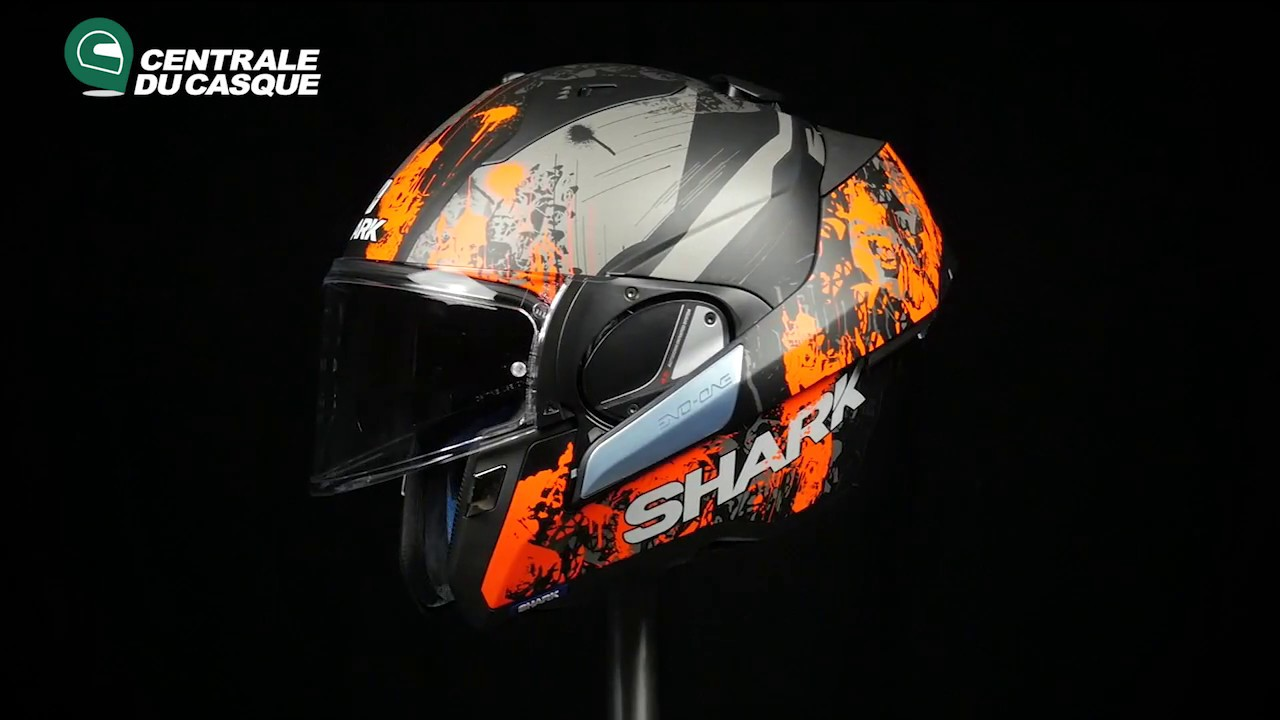 360 Shark Evo One Falhout Mat Orange Koa Centrale Du Casquecom