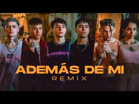 Rusherking, Tiago PZK, KHEA, LIT Killah, Duki, Maria Becerra - ADEMAS DE MI REMIX (Official Video) - Rusher king