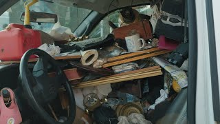 An Antique Rocking Chair Is 1 Odd Find Inside This Man's Car