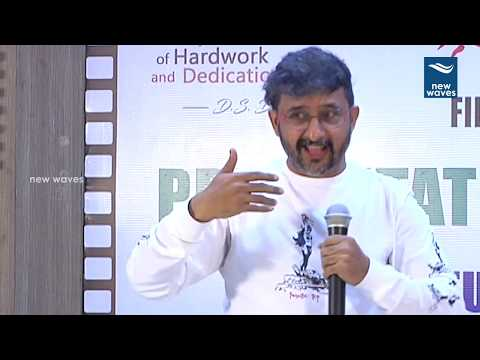 Director Teja and Surender Reddy at Mayukha Talkies Film Acting School Launch | New Waves