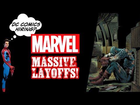Massive Marvel Comics Editorial Staff Layoffs