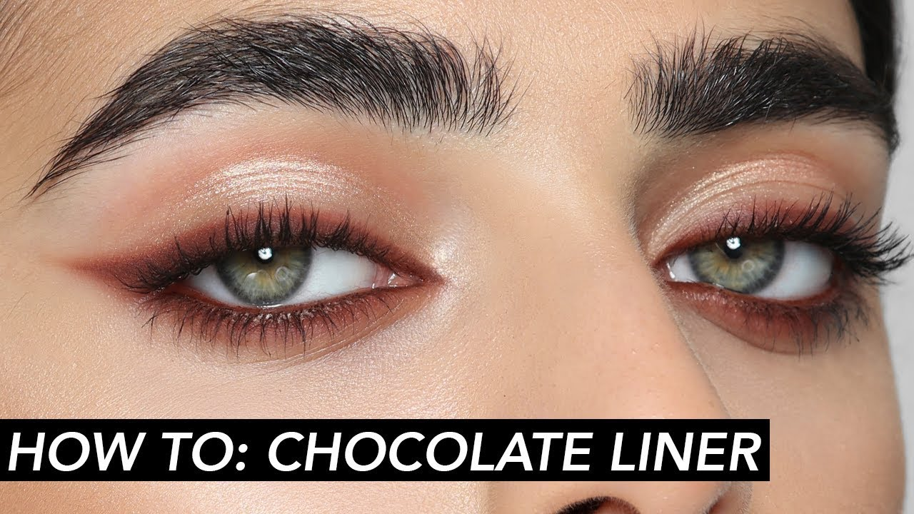 HOW TO: Chocolate Cat Eye | Hindash