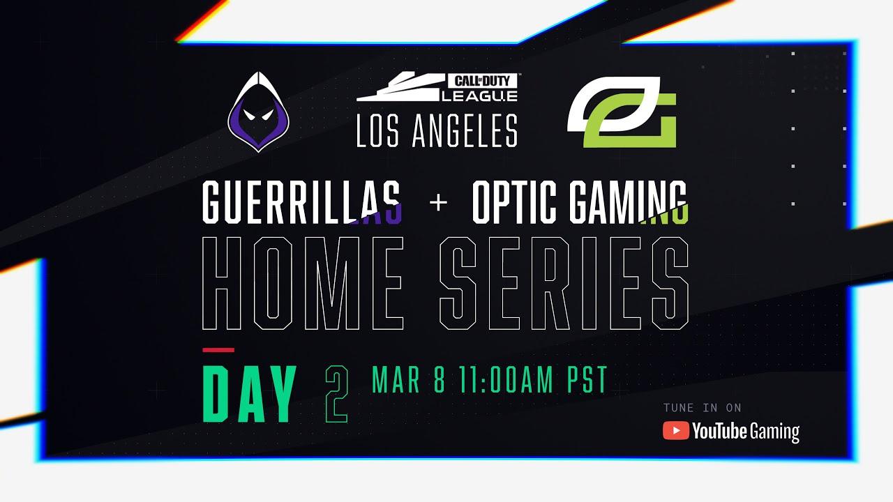 Call Of Duty League 2020 Season | Los Angeles Home Series | Day 2