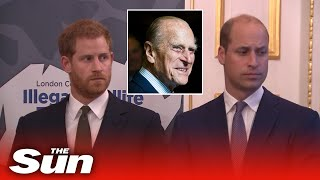 Prince William & Harry To Be Separated At Prince Philip's Funeral