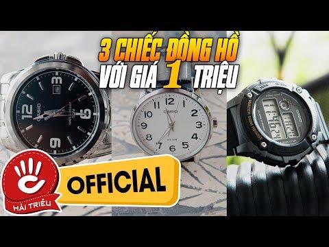 Sốc - 3 Chiếc Đồng Hồ Casio Với Giá Dưới 1 Triệu