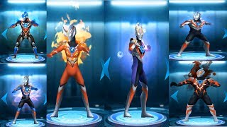 Sieu nhan game play | Ultraman Orb Game | Tuyệt chiêu của fake dyna - tiga và các ultraman khác