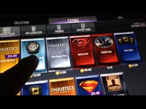 IOS Andriod Injustice Gods Among Us Glitch 2015! ipad no Cheat or Hack