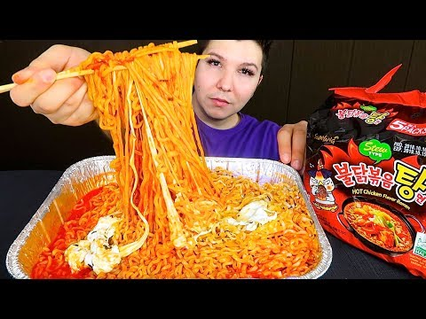 Exposing Manny MUA With Receipts 鈥� Cheesy Fire Noodles 鈥� MUKBANG