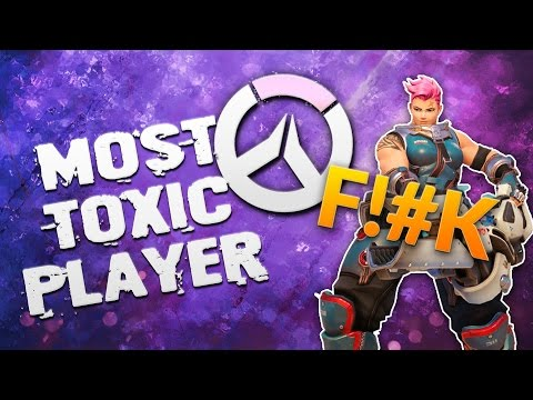 most toxic overwatch player EVER