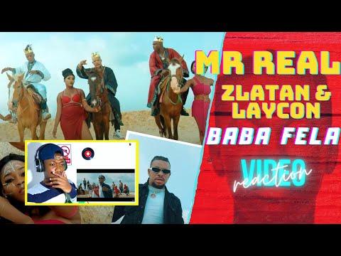 Mr Real – Baba Fela Remix (Official Video) ft. Zlatan, Laycon REACTION