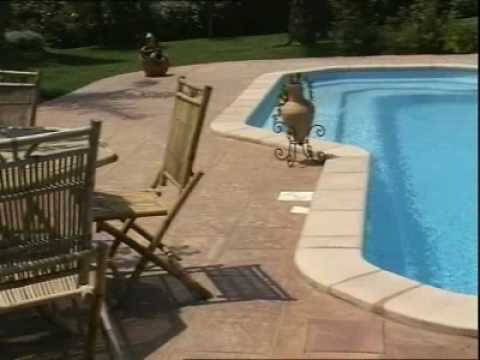 piscine provence polyester big pool prestige youtube. Black Bedroom Furniture Sets. Home Design Ideas