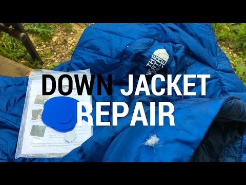 How To Repair Your Down Jacket Rip Hole