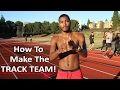How to Run Faster to Make the Track and Field Team in School