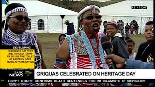 Griquas remembered on Heritage day