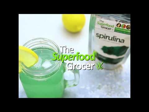 Spirulina Lemonade   The Superfood Grocer Philippines