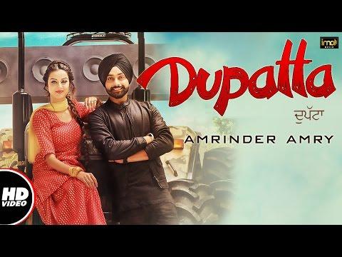 Dupatta (Full Video) - Amrinder Amry | Mista Baaz | Preet Judge | Latest Punjabi Songs | IMA Music