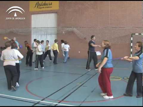 Mayores actividad aerobica para adultos