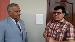 Entrevista al docente Pedro Murillo profesor de la carrera de Adminitracion de Empresa de la UCSG