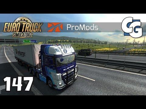 Euro Truck Simulator 2 - Ep. 147 - Entering Romania - ETS2 ProMods 2.16 Gameplay