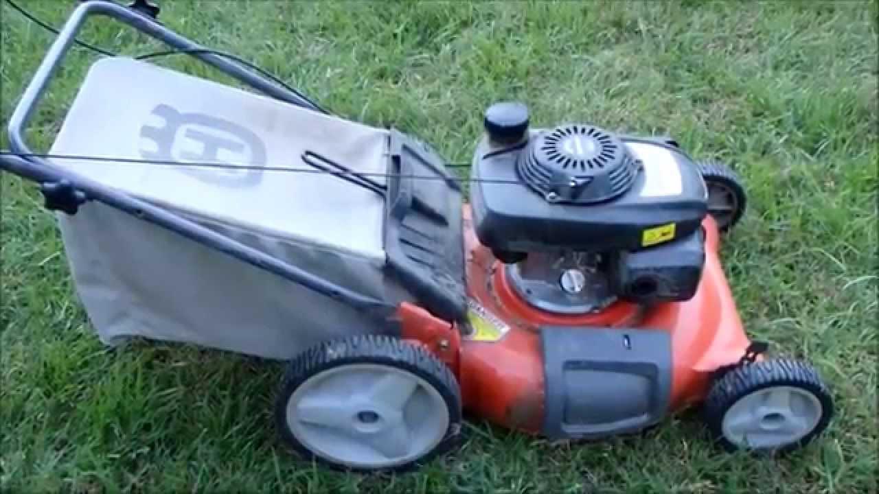 """Husqvarna 21"""" Lawn Mower Model 7021P Honda Engine - Broken ..."""