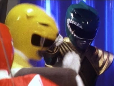 Green Ranger meets the Power Rangers | Mighty Morphin Power Rangers
