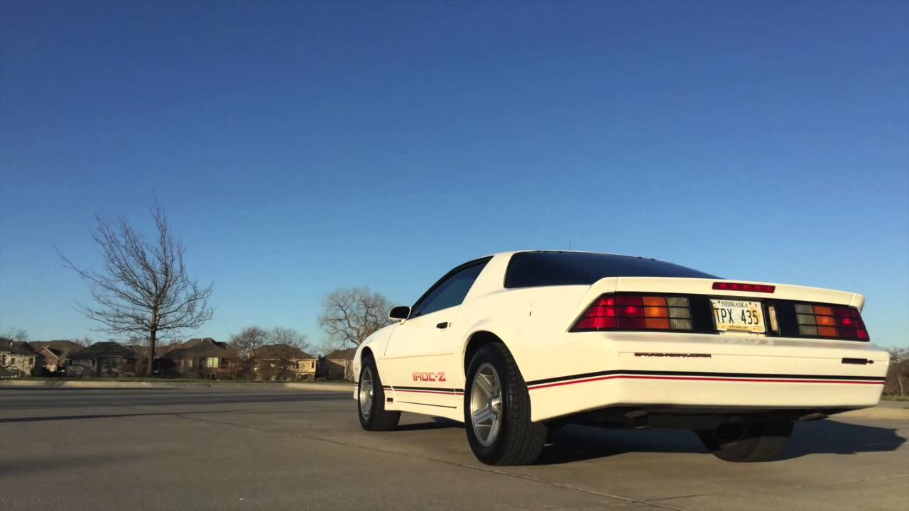 1989 Camaro Iroc Z For Sale Youtube