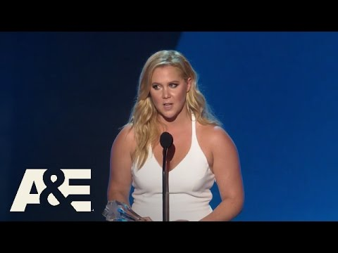 Amy Schumer Accepts the MVP Award | 2016 Critics' Choice Awards | A&E