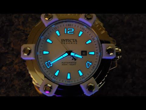 Invicta Watch Review : Flashy Invicta Grand Arsenal