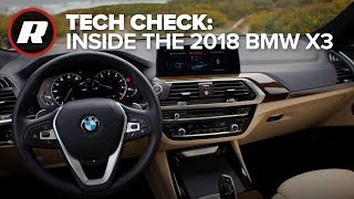 Tech Check: Inside the 2018 BMW X3 (4K)