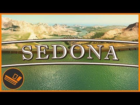 Sedona - Part 14 | FLOODING (Cities: Skylines)