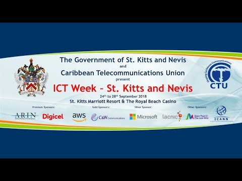 ICT Week - St. Kitts and Nevis 2018 (September 27, 2018)