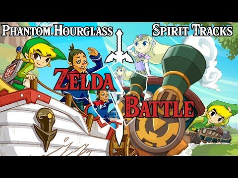 PHANTOM HOURGLASS vs SPIRIT TRACKS | ZELDA BATTLE