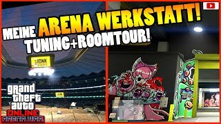 🤑Meine ARENA WERKSTATT Tuning + Roomtour!🤑[GTA 5 Online Arena War Update DLC]